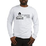 Too Fond of Books (LM Alcott) Long Sleeve T-Shirt