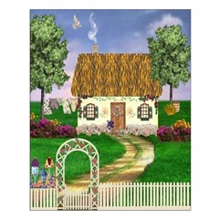 Country Cottage (Vertical) Unframed Print