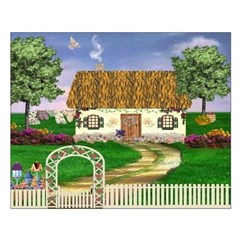 Country Cottage Unframed Print