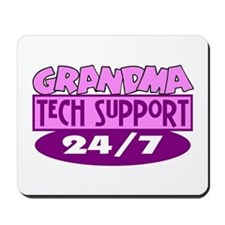 Grandma Tech Support Mousepad
