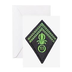 13th Division Legion Greeting Card