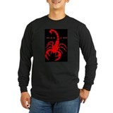 Gothic Red Scorpion T-Shirt