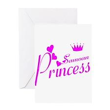 Samoan princess Greeting Card