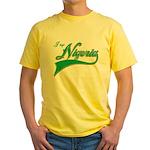 I rep Nigeria Yellow T-Shirt