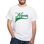 I rep Nigeria White T-Shirt
