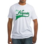 I rep Nigeria Fitted T-Shirt