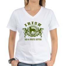 Irish Red & White Setter Shirt