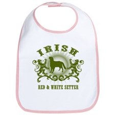 Irish Red & White Setter Bib