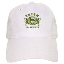Irish Red & White Setter Baseball Cap