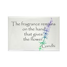 Gandhi Quote Rectangle Magnet