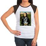 Mona's Catahoula Leopard Women's Cap Sleeve T-Shir