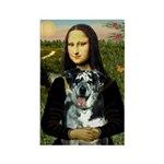 Mona's Catahoula Leopard Rectangle Magnet