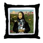 Mona's Catahoula Leopard Throw Pillow