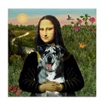Mona's Catahoula Leopard Tile Coaster