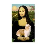 Mona/Puff Sticker (Rectangle)