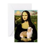 Mona/Puff Greeting Card