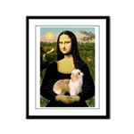 Mona/Puff Framed Panel Print