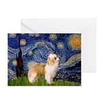 Starry/Puff Crested Greeting Cards (Pk of 20)