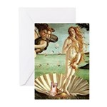 Venus/Puff Crested Greeting Cards (Pk of 20)