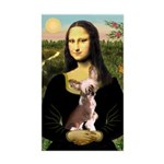 Mona / C Crested(HL) Sticker (Rectangle)