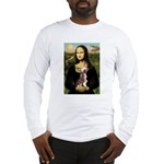 Mona / C Crested(HL) Long Sleeve T-Shirt