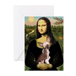 Mona / C Crested(HL) Greeting Cards (Pk of 10)
