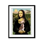Mona / C Crested(HL) Framed Panel Print