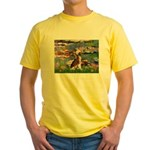 Lilies / C Crested(HL) Yellow T-Shirt