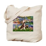 Lilies / C Crested(HL) Tote Bag