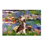 Lilies / C Crested(HL) Postcards (Package of 8)
