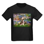 Lilies / C Crested(HL) Kids Dark T-Shirt