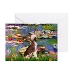 Lilies / C Crested(HL) Greeting Cards (Pk of 10)