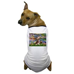 Lilies / C Crested(HL) Dog T-Shirt