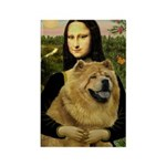 Mona /Chow Chow #1 Rectangle Magnet (10 pack)