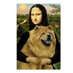 Mona /Chow Chow #1 Postcards (Package of 8)