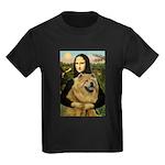 Mona /Chow Chow #1 Kids Dark T-Shirt