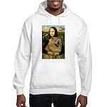 Mona /Chow Chow #1 Hooded Sweatshirt