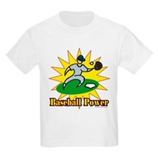 Baseball Power Kids T-Shirt