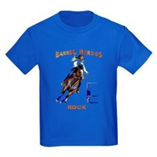 Barrel Horses Rock T