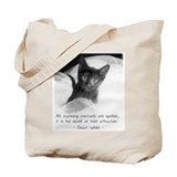 Spoiled Kitten-And-Quote Tote Bag