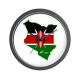 Cool Kenya Wall Clock