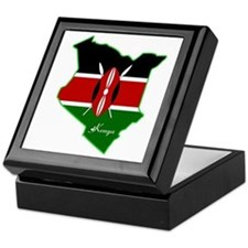 Cool Kenya Keepsake Box