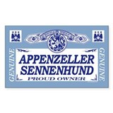 APPENZELLER SENNENHUND Rectangle Decal