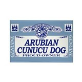 ARUBIAN CUNUCU DOG Rectangle Magnet