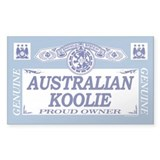 AUSTRALIAN KOOLIE Rectangle Decal