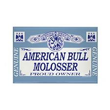 AMERICAN BULL MOLOSSER Rectangle Magnet (100 pack)