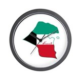 Cool Kuwait Wall Clock