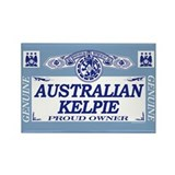 AUSTRALIAN KELPIE Rectangle Magnet