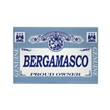 BERGAMASCO Rectangle Magnet (10 pack)