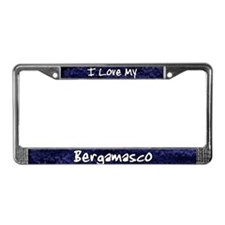 Funky Love Bergamasco License Plate Frame